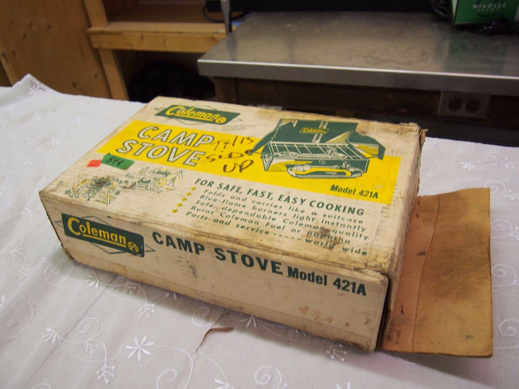 Vintage Coleman Camp Stove