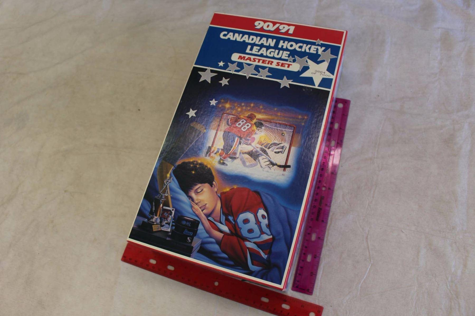 1990-91 Canadian Hockey League Master Set Cards