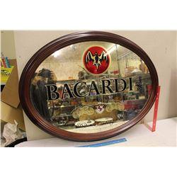 """Bacardi Large Advertising Mirror (33""""x25"""")"""