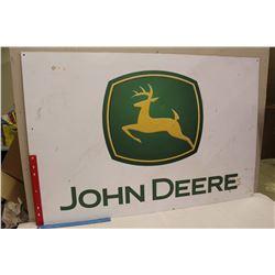 "John Deere Advertising Sign (42""x29"")(Plexiglass)"