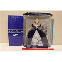 1995 Winter Velvet Barbie(Avon)&A 1999 Millennuim Princess Barbie(NIB)
