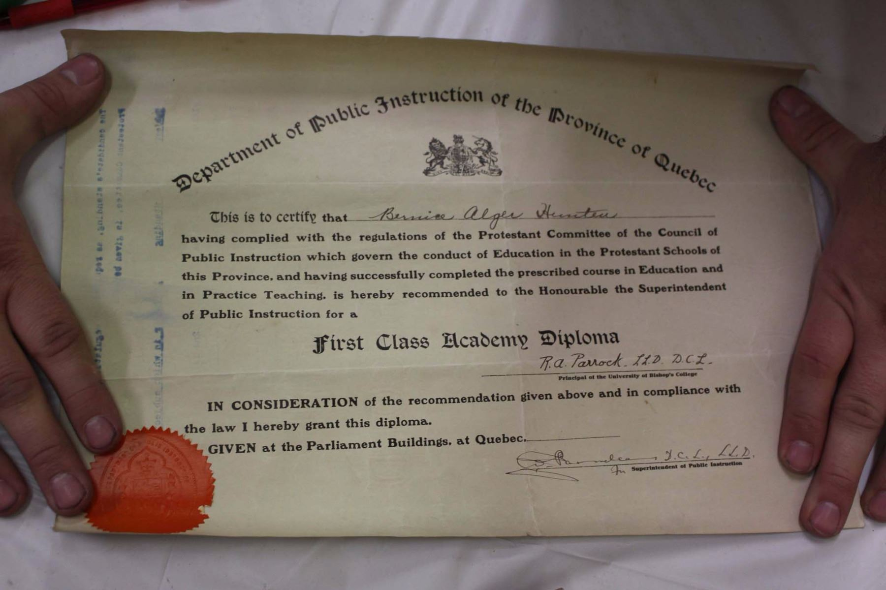 ... Image 4 : Lot Of Vintage Misc (Model Train Control, Early 1900's  Teaching Certificate ...