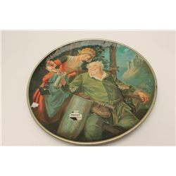 "Falstaff Beer advertiser; original on metal,  approximately 24"" overall.   Est.:  $75-$150."
