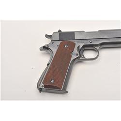 "United States Property marked Colt Model  1911A-1 transition semi-automatic pistol, .45  caliber, 5"""