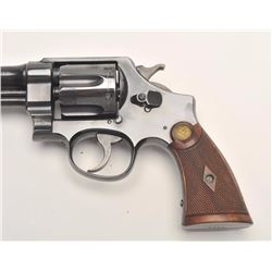 Smith and Wesson 1st Model Hand Ejector  revolver, .44 S&W Special caliber, Serial  #8223.  The pist
