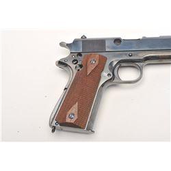"""Colt Model 1911A-1 """"Cut-away"""" semi-automatic  pistol, .45 caliber, 5"""" barrel, re-blued  finish, chec"""