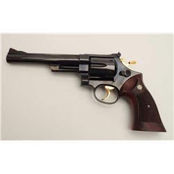 "Smith & Wesson Model 29-2 DA revolver, .44  Magnum caliber, 6.5"" pinned barrel, blued  finish, check"