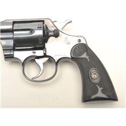 "Colt Army Special DA revolver, .32-20 W.C.F.   caliber, 4"" barrel, high polish blued  finish,  check"