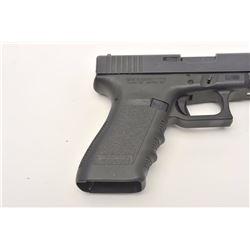 "Glock Model 21 semi-automatic pistol, .45  caliber, 4.5"" barrel, mat black finish, S/N  PDG354, with"