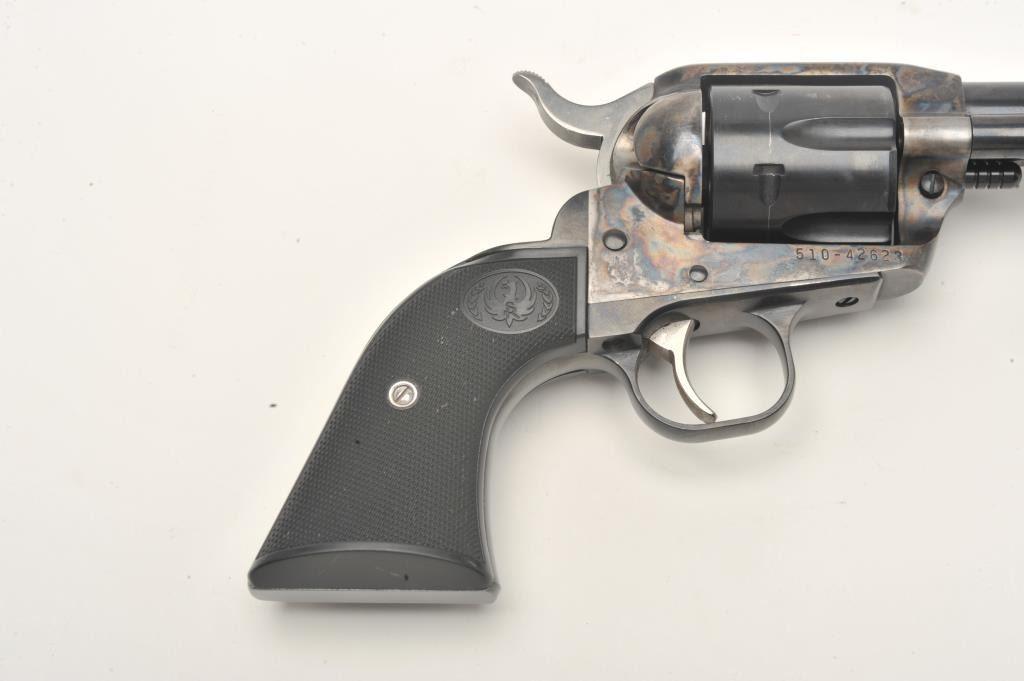 Ruger New Vaquero single action revolver,  45 caliber, 4 5