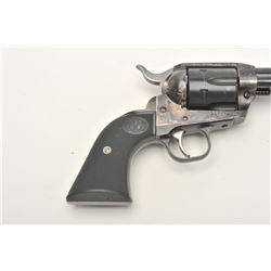 """Ruger New Vaquero single action revolver, .45  caliber, 4.5"""" barrel, blued and case  hardened finish"""