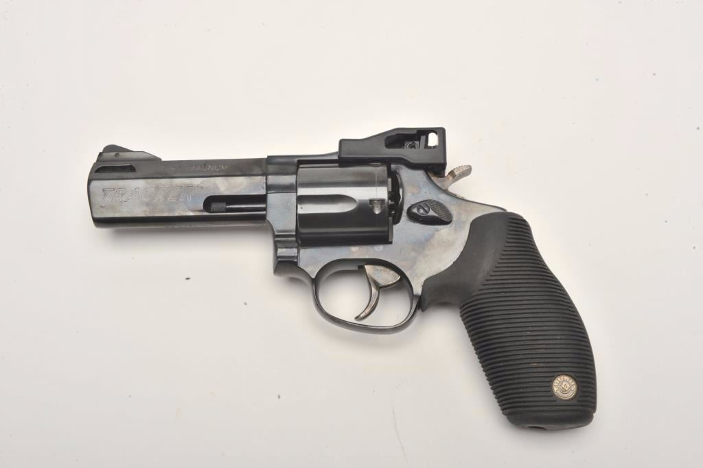"Taurus Tracker Model DA revolver,  44 Magnum caliber, 4"" ported"