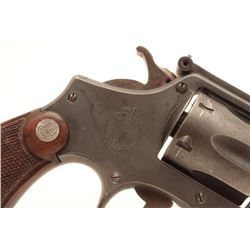 Smith and Wesson Victory revolver, .38  Special caliber, Serial #V141711.  The pistol  is in good ov