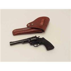 """Colt Trooper MK III revolver, single action  only, 6"""" barrel, blue finish, case hardened  target ham"""