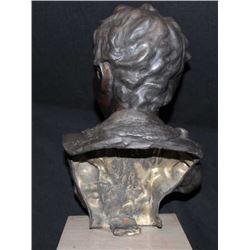 "Antique bronze casting signed ""V. Cinglle""  circa 1900-1930's. Measures 13"" including  base. Est.: $"