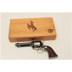 Colt Wyoming Diamond Jubilee Commemorative  Model Frontier Scout single action revolver,  .22 calibe