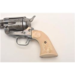 West German Arminius SAA by H. Weihrauch, .45  caliber, Serial #56357.  The pistol is in  good overa