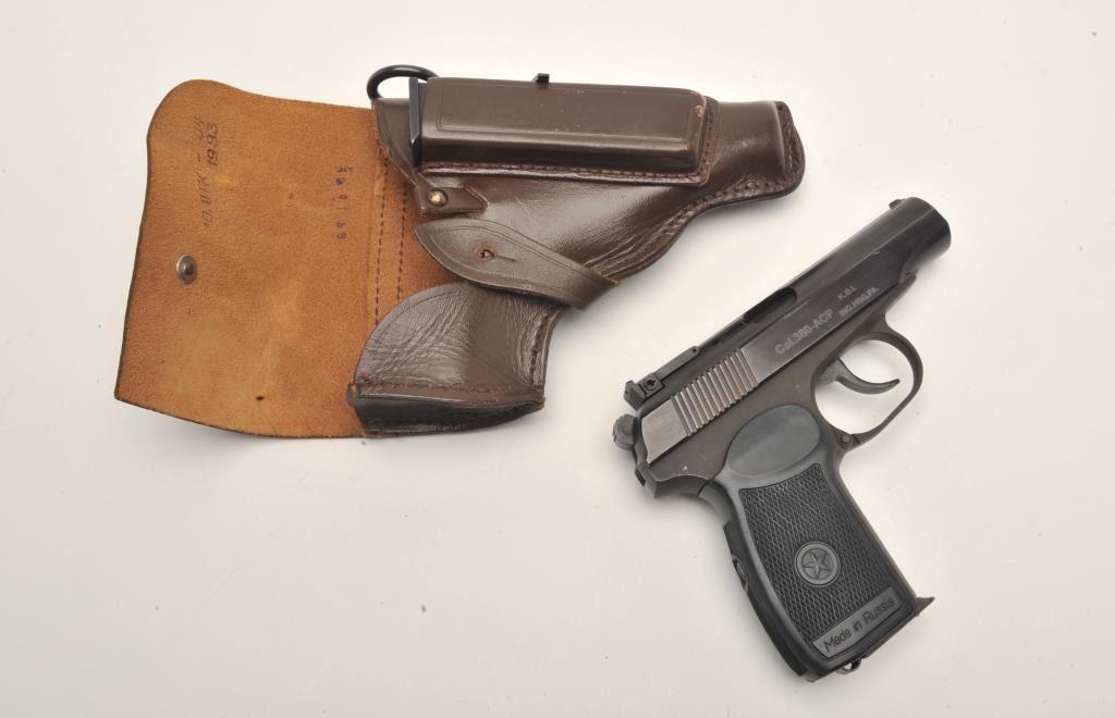 Russian Baikal DA semi-automatic pistol by IMEZ, import-marked,  380