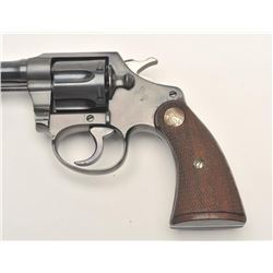 Colt Police Positive revolver, .38 S&W  caliber, Serial #404001.  The pistol is in  near mint overal