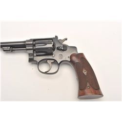 Smith and Wesson .22/32 Heavy Frame Target  revolver, .22 Long Rifle caliber, Serial  #427725.  The