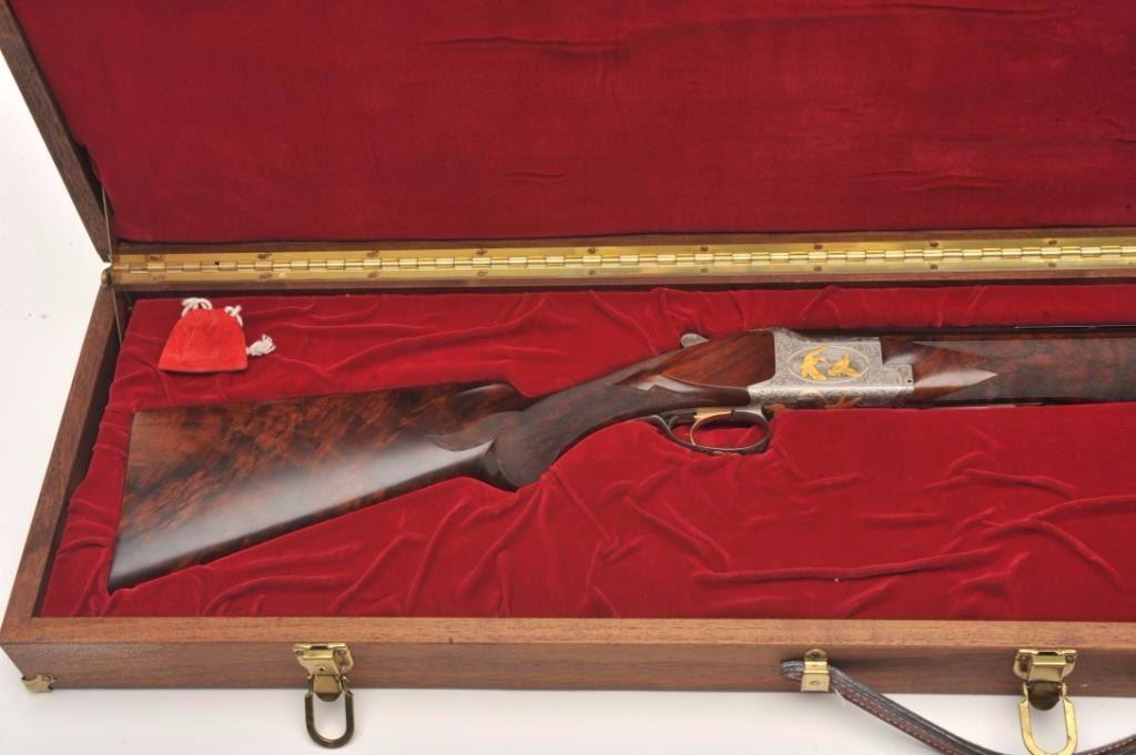 Browning Superposed High Grade American Mallard Model O/U