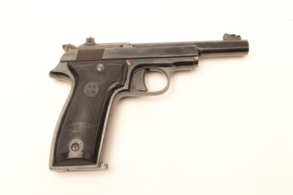 MAB Le Chasseur semi-auto target pistol,  22 LR caliber