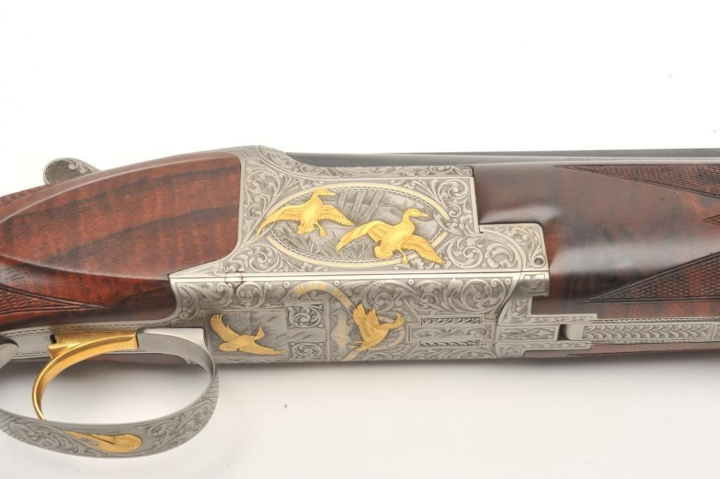 Browning Superposed High Grade Black Duck Model O/U shotgun
