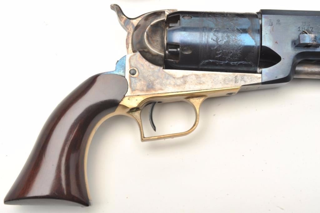 Italian reproduction of a Colt Walker percussion revolver,  44