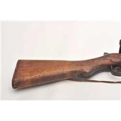 Arisaka Model T-99 Last Ditch rifle, 7.7 mm,   serial #51379.  The rifle is in good overall   condit
