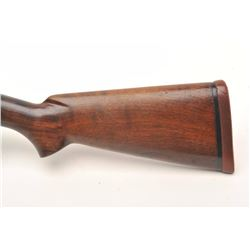 "Winchester Model 12 pump action takedown  shotgun, 12 gauge, 30"" barrel, blued finish,  wood stocks,"