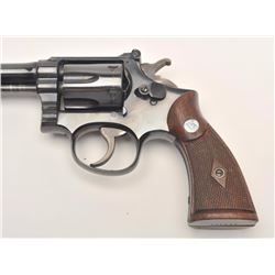 Smith and Wesson K-22/40 Masterpiece revolver,  .22 Long Rifle caliber, Serial #684429.