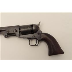 Colt 1851 Navy 3rd Model U.S.N. variation  with New York address, large iron trigger  guard and iron