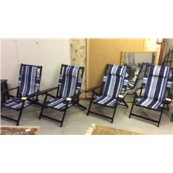 4 patio chairs