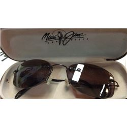 Maui Jim sun glasses in case