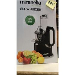 """Miranella"" slow juicer"