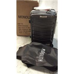 """Monolith"" hard case suitcase ( lock, wheels)"