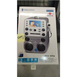 """Singing machine"" karaoke system (Bluetooth,"