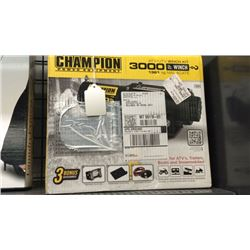 """Champion"" atv/utv 3000 lb. winch"