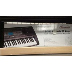 """Thaynards"" ts-340 portable 61 key keyboard ("