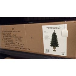 5' pre-lit Christmas tree