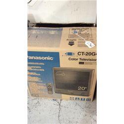 """Panasonic"" color t.v. 20"""
