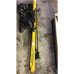 """""""Salomon"""" skis ( with poles and boots)"""