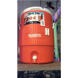 """Igloo"" 10 gallon drink cooler"