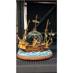 Peter Pan and Captain Hook Globe