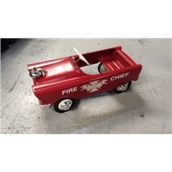 Murray Flat Face Fire Chief Pedal Car 1959-1972