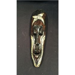 Long Hand Carved Mask