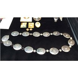 Sterling Silver Belt