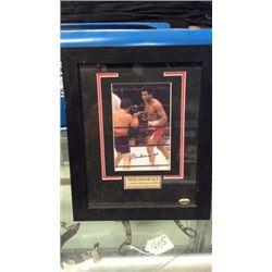 Muhammad Ali signed photo