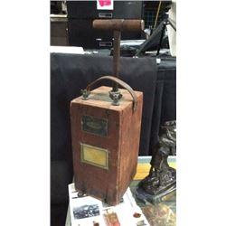 Antique Dynamite Blasting Box By Dupont