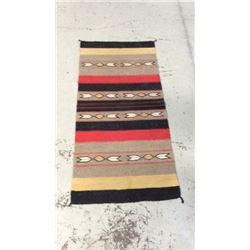 """32""""x64"""" Wool Navajo Rug"""